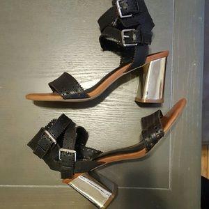 Dolce Vita Elka Cutout Block Heeled Sandal