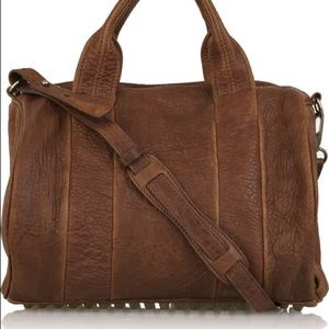 Alexander Wang Handbags - Alexander Wang Rocco Brown Medium Satchel