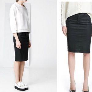 Ann Demeulemeester Dresses & Skirts - Ann Demeulemeester coated skirt SZ 4