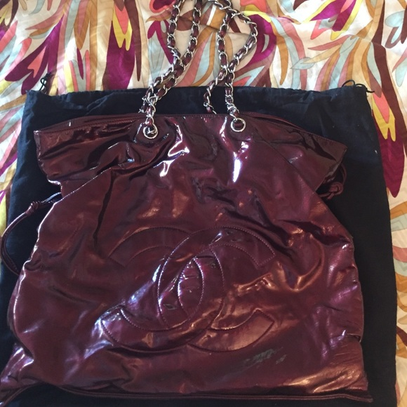 d85f95f94946 CHANEL Bags | Patent Leather Bon Bon Tote Bag | Poshmark