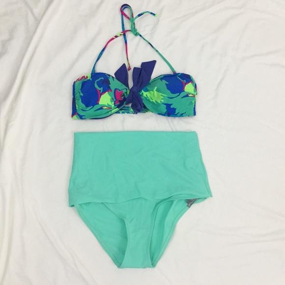 b511d8c62b47a aerie Swim   High Waisted Bikini Bottoms   Poshmark