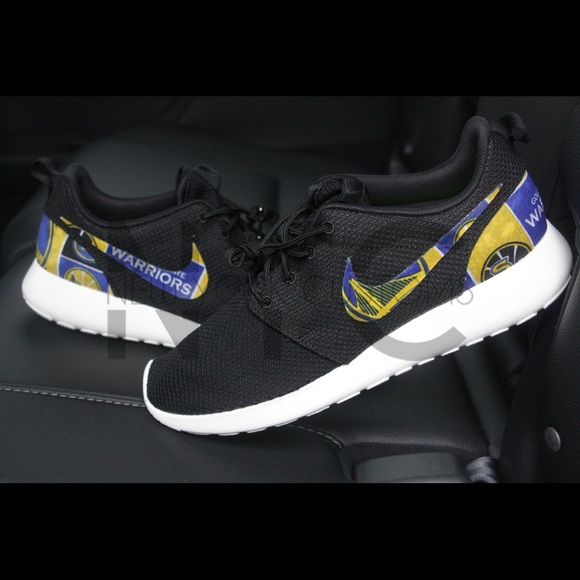 Golden State Warriors Nike Roshe One Custom women
