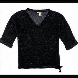 3/4 Sleeve DKNY Sequin Sweater