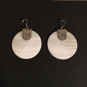 Jewelry - Large shell earrings