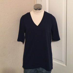 NWT Market and Spruce mix material top medium