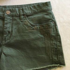 Blank denim shorts new.
