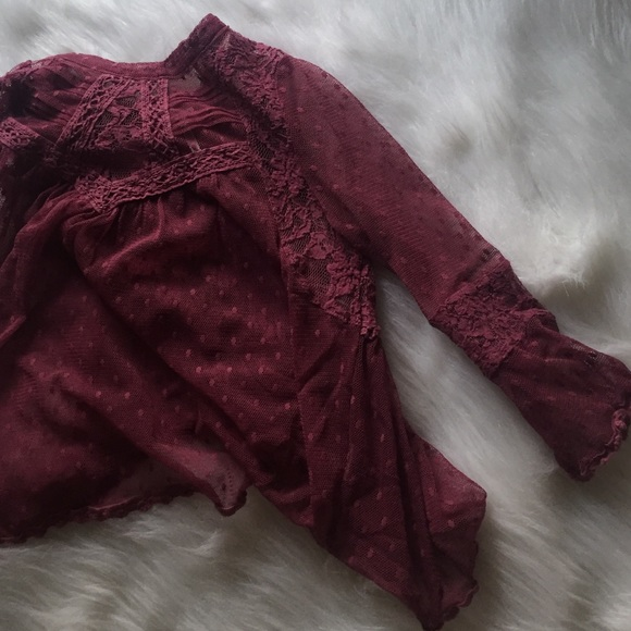 Free People Tops - 🚫SOLD🚫 free people lace top
