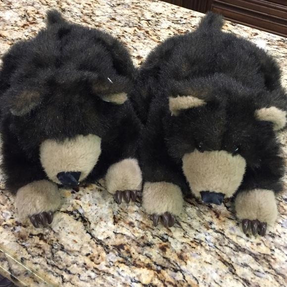 NWOT Bear bedroom slippers  Adult sized