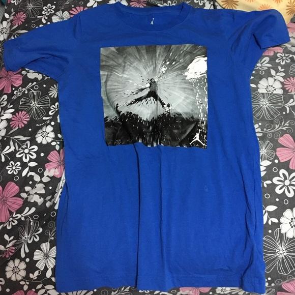 b995e848fb3 Jordan Tops   Blue Shirt Fits Size Small In Girls   Poshmark