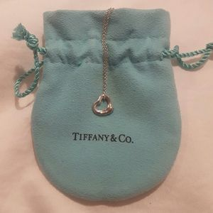 Tiffany & Co. Elisa Peretti Open Heart necklace