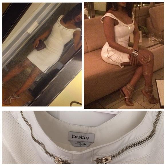 bebe Dresses - Bebe zipper dress MAke an OFFER