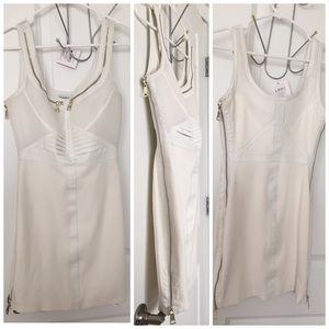 bebe Dresses - Bebe zipper dress MAke an OFFER