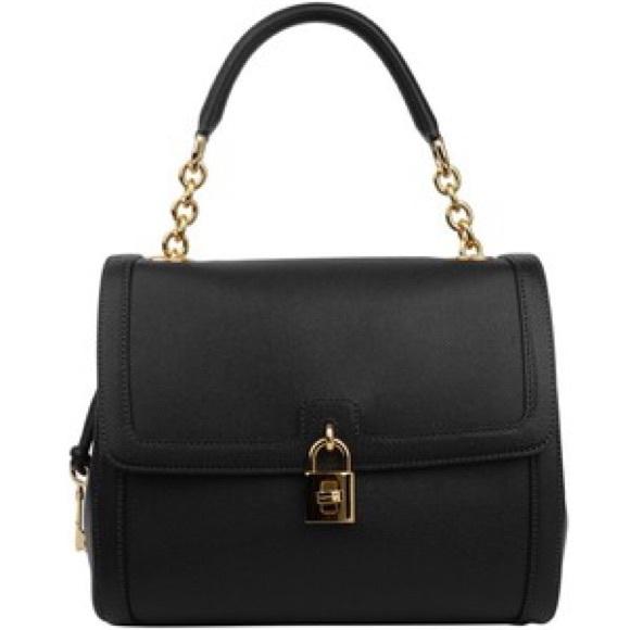 Dolce   Gabbana Handbags - Dolce   Gabbana Miss Dolce Bag Black abc9356d6d50a