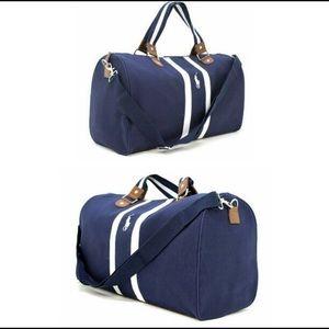 2a95c72716 Polo by Ralph Lauren Bags - Polo Ralph Lauren blue white duffle bag