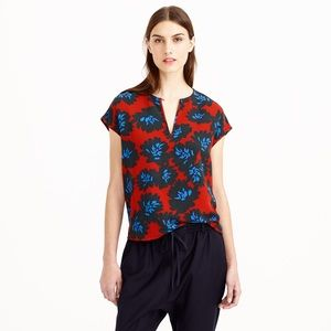 NEW J. Crew Firework Floral Top