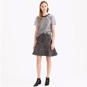 NEW J. Crew Plaza Skirt in Tweed