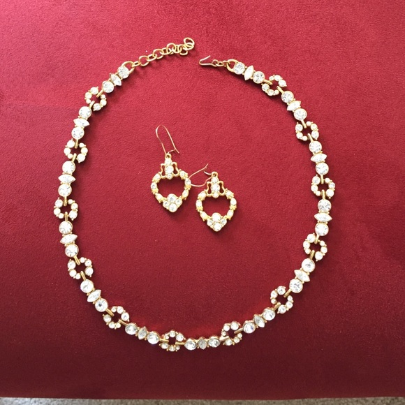 Monet Jewelry Gorgeous Necklace And Earring Set Poshmark