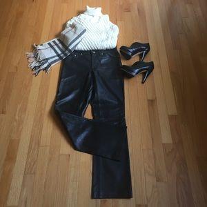 Denim - Wild Child Leather Jean