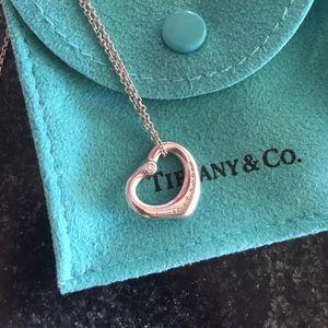Two Diamond Tiffany & Co. Elsa Peretti Necklace
