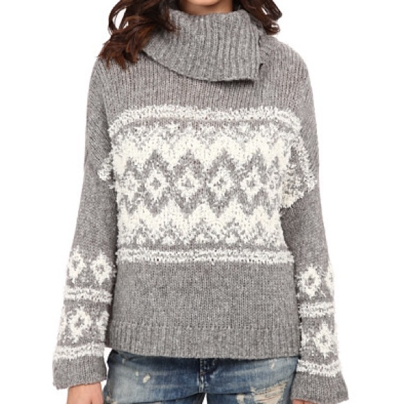73% off Free People Sweaters - | Free People | Ragnar Fair Isle ...