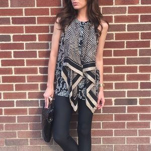 Elizabeth & James Scarf Top