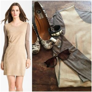 Rebecca Taylor Dresses & Skirts - Host Pick NWOT Suede and knit Rebecca Taylor dress
