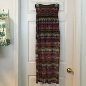 No Boundaries Dresses & Skirts - colorful Maxi skirt