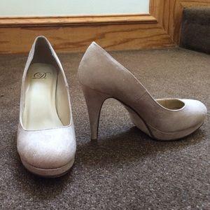 Dior tan heels