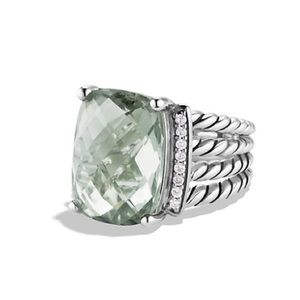 Authentic David Yurman Prasiolite Ring