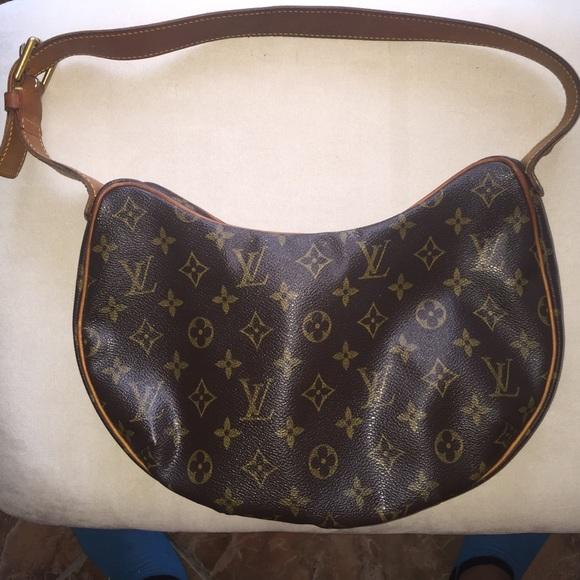 51e30c9561267 Louis Vuitton Handbags - Louis Vuitton Crescent purse Authentic