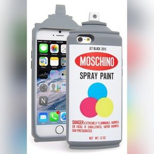 💗💙💛Moschino Spray Paint 6/6S Phone Case💛💙💗