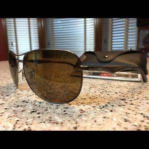 72df96e51d Ray-Ban Accessories - Ray Ban Polarized Aviator RB 3519 in Classic Brown