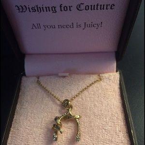 Juicy Couture Wish Bone Necklace