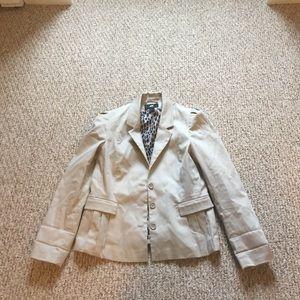 H&m cotton beige jacket