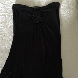 Buffalo Tops - Buffalo, asymmetrical, black halter top, M
