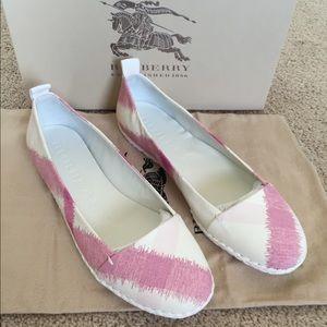 Burberry Flat (pink)
