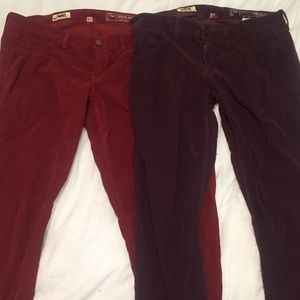 Solid Pants - Corduroy pants