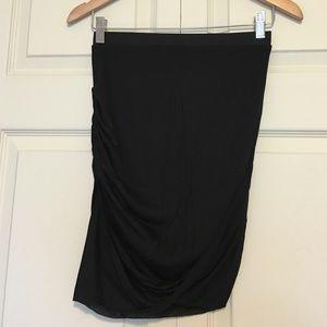 Helmut Lang Layered Skirt