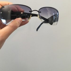 3a43a41615b CHANEL Accessories - Chanel sunglasses with Swarovski crystals