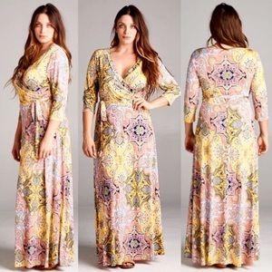 Leoninus Dresses & Skirts - 🇺🇸🍋Lemonade Maxi Dress