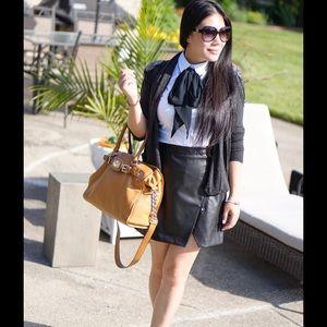 Michael Kors Handbags - Michael Kors brown leather bag