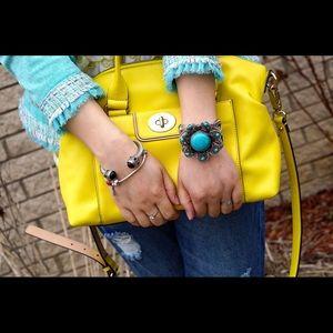 kate spade Handbags - Kate Spade neon yellow bag