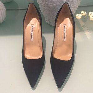 Manolo Blahnik Shoes - Brand new Manoli Blahnik navy blue shoes