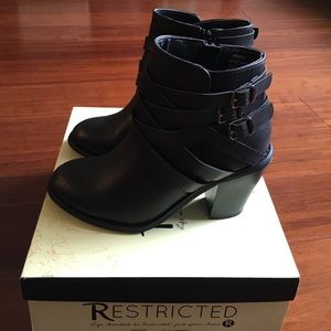 Restricted booties. Lightly used.