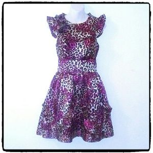 Twelve by Twelve Animal Print Dress. Nwot