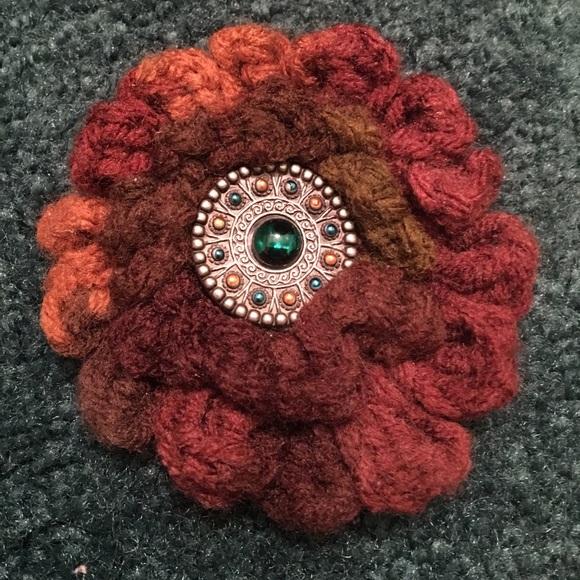 Accessories Crochet Flower Hair Clip Poshmark