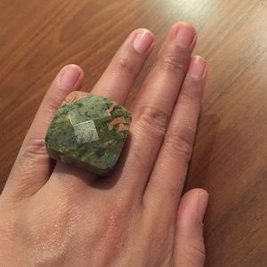 Jewelry - Marbeled Tie Dye stone statement ring