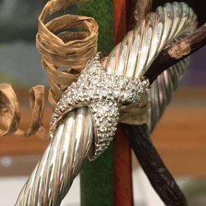 David Yurman Jewelry - 7mm Diamond X David Yurman Bracelet-**REDUCED*****