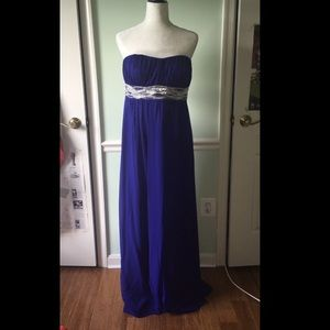 JS Boutique Dresses & Skirts - Nordstrom royal blue prom dress