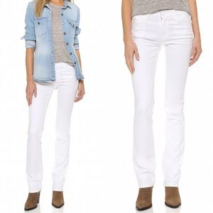 Current/Elliott Denim - 🆕 Current/Elliott White Slim Straight Leg Jeans